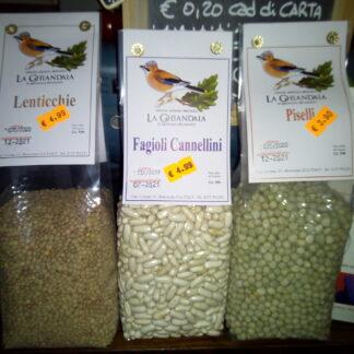 Cereali, Legumi e Semi BIO